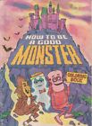 """Vtg General Mills Monster Cereals """"How To Be A Good Monster"""" Coloring Book READ"""