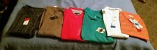 6 New 3XL Shirts 4 Polo, 2 Dress Shirts Izod, Tomy Hilfigger, Grand Slam, Sdbred