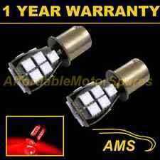 2x 382 1156 Ba15s 207 P21W Rojo 18 Smd Led Hi-level Freno bombillas hbl201201