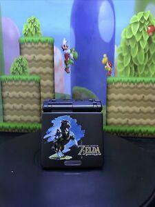 Nintendo GAME BOY ADVANCE SP IPS V2 Backlight Model ZELDA BREATH OF THE WILD