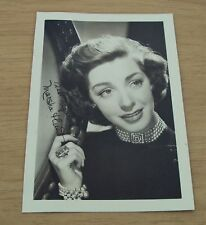 "1940's Movie Star FAN CLUB Photo~Actress ""MARSHA HUNT""~Blacklisted~Still Alive~"