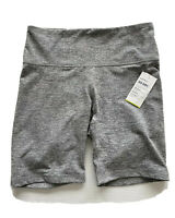 Old Navy Active Go-Dry High Rise Bermuda Athletic Shorts Gray Women's Size L NWT
