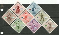 Republic Dominican Scott#479-483 C100-102 1957 Mlh