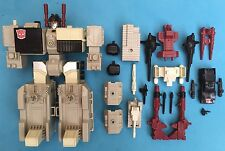 -- G1 Transformers - Autobot Base - Metroplex - Near Complete Missile Scamper --