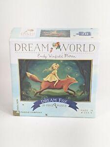 Dream World 20 Piece New York Puzzle Company by Emily Winfield Martin Dream Fox