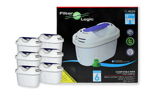 Universal 6pk of Water Filters for Russell Hobbs 20760 18554 22851 Purity Kettle