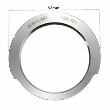 M39 LTM LSM Leica Screw Mount to Leica M Mount Lens Mount Adapter 50-75mm