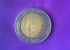 500 Lire italienische Münze 1986