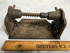 JEROME PAPER CO NY ~ ANTIQUE INDUSTRIAL CAST IRON TOILET PAPER HOLDER
