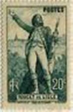"""FRANCE STAMP TIMBRE N° 314 """" CLAUDE ROUGET DE LISLE , 20 C """" NEUF x TB"""