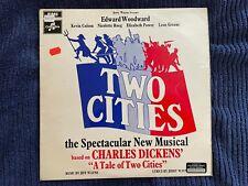 Two Cities cast album (LP 1969) Jeff Wayne, Charles Dickens, SX6330