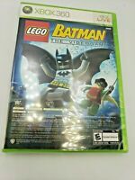 LEGO Batman: The Videogame and Pure (Microsoft Xbox 360, 2009) Free Shipping New