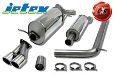 Skoda Fabia 2 5J 10on 1.4TSi 180hp Stainless Jetex Exhaust System 27-HBDR 10 On