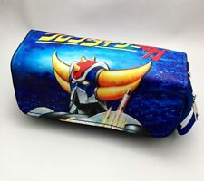 Robot Grendizer Stationery bag large capacity double zipper pencil case New gift