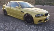 BMW E46 M3 Frontspoiler Flaps CSL Look