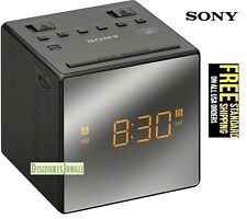 Sony Icfc-1 Alarm Clock Am/Fm Radio Led Black Icfc1 Large easy to read Lcd