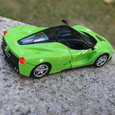 La Ferrari Model Cars 1:32 Alloy Diecast Sound & Light CollectionGift Green