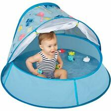 Babymoov Aquani Tent & Pool - 3 in 1 Pop Up Tent Kiddie Pool and Play Yard