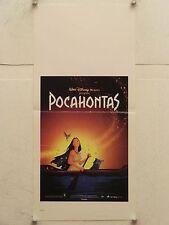 POCAHONTAS Walt Disney animazione locandina orig. 1995