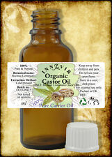 Pure Organic Castor Oil BP 50ml - Cold Pressed