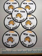 7 Vintage 1989 New York State Shoot Patches