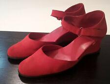 Arche Damen Sandale Sandalette rot Gr. 39