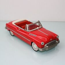 Vintage Buick tin friction red car
