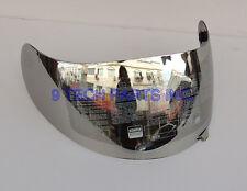 AGV K3 K4 Visor Motorcycle Helmet Lens Face Shield SILVER CHROME not fit K3-SV
