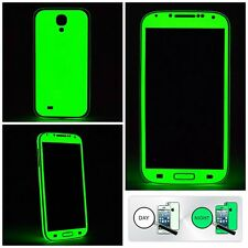 Samsung Galaxy S4 S5 S6 S7 S8 Glow in the Dark Luminescent Full body Skin Wrap