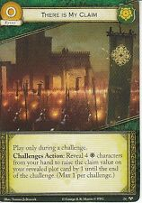 3 x There is My Claim AGoT LCG 2.0 Game of Thrones Called to Arms 24