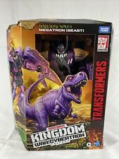 Transformers Kingdom MEGATRON Beast Leader Class War for Cybertron Hasbro READ W