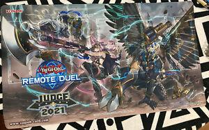 Yugioh 2021 Remote Duel Judge Playmat - Tri-Brigade -LEGITIMATE - USA TCG