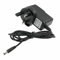 UK AC 100-240V to DC 9V 1A Switching Power Supply Converter Charger Adapter NEW!
