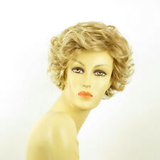 Perruque femme courte blond clair cuivré méché blond clair JULIETTE 27t613
