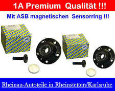 2 St. Radlagersatz  SNR R154.55 -HA- NEU-  AUDI  A3 (8P1, 8PA), A3 Cabriolet