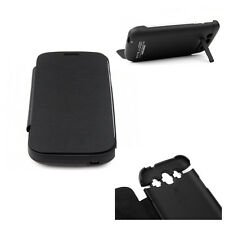 3200MAH BACKUP BATTERY CHARGER EXTENDED POWER CASE COVER BLACK SAMSUNG GALAXY S3