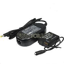 DMW-AC8 + DMW-DCC9 Coupler AC Power Adapter for Panasonic Lumix DMC-GF2 GF2K G3