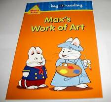 MAX & RUBY LEVEL 1 BOOK MAX'S WORK OF ART + MATCH GAME