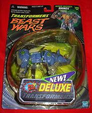 Transformers 1999 BEAST WARS HEROIC MAXIMAL RHINOX Delux Transformers MOC