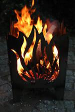 Feuerkorb FLAMME Feuersäule XXL EU Stahl Feuerschale VERSANDKOSTEN FREI