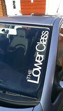 the lower class windscreen decal sticker large 500mm dub / jdm / euro / vw