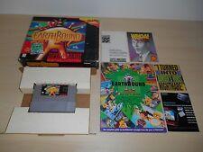 Earthbound Complete SNES Game Super Nintendo CIB Rare Earth Bound w/ Cards