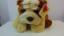 """Bull Dog Simply Soft Collection Keel Toys Cuddly Toy 16"""""""
