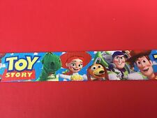 TOY STORY Grosgrain RIBBON 1Mtr X 22mm For Craft Hair Gifts Cakes