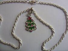 Collana con Ciondolo Albero di Natale
