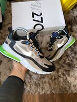 "Nike Air Max 270 React Winter UK 10 ""Sepia Stone/Black"" EU 45"