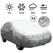 Large Aluminum Double M Thicker Full Car Cover UV Protect Waterproof Dustproof