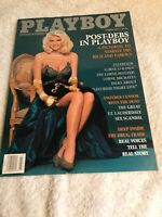 Vintage Complete Playboy Magazine March 1992 Vickie Smith (Anna Nicole)