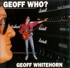 GEOFF WHITEHORN GEOFF WHO? CD NEW