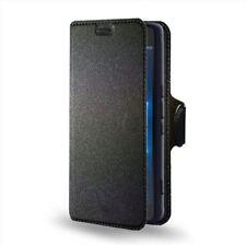 Custodia Flip portadocumenti con stand per Microsoft Lumia 950 XL, Colore: Nero